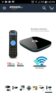 Android TV box Redgo Q-Box 2gb ram 16gb quad core 1080p 4k