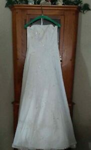 White Prom or Wedding Gown