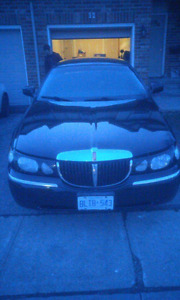 1998 lincoln towncar sogniture series!