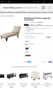 Chaise lounge hudson bay
