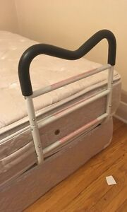 bed rail support