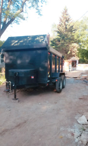 Dump trailer/float service