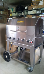 CROWN VERITY Portable Commercial BBQ