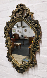 Vintage Gilt Framed Wall Mirror (DELIVERY AVAILABLE)
