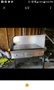 "36""Griddle flat top..electric single phase 220"
