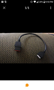 Ipod cable for dodge audio systen