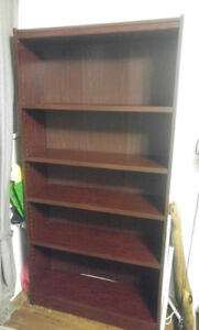 Red Cedar-Colour Bookcase