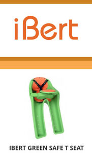 IBert safe-T-seat Baby bicycle seat almost NEW kid bike seat