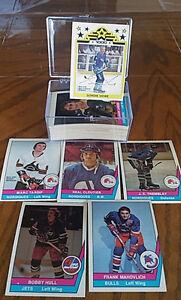 Série complete 1977-78 o-pee-chee (66 cartes)  Gordie Howe