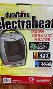 1500W Duraflame Heater New in Box