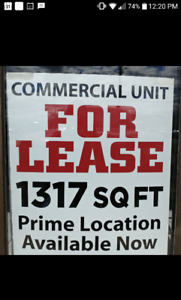 FOR LEASE PRIME LOCATION AVAILABLE NOW!!
