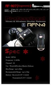 BRAND NEW SEALED SMDV RF-N4 RELEASE RF907 FOR SONY ALPHA