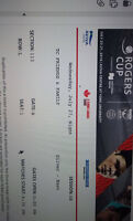 ROGERS CUP TICKETS (2) - TORONTO