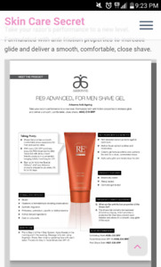 Men's Arbonne RE9 Shave Gel and Balm