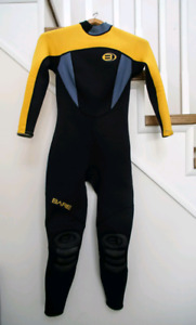 Bare 3mm Women's Full Body Wetsuit - Size Small