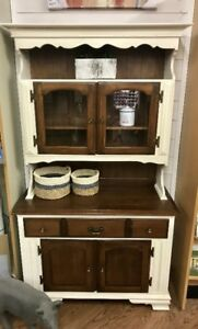Refinished Dining Hutch