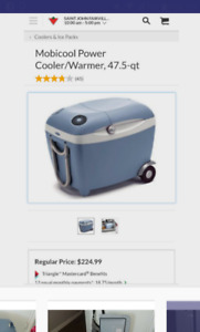 Hot/ cold electric cooler