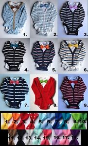 Baby boy onesie cardigans with bow tie for Christmas, 3-6 months