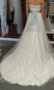 Ella Rosa Lace Wedding Dress