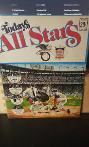 ALL STAR BASEBALL  1971 - Livre de 24 photos de joueurs - RARE-
