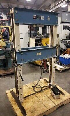 Otc Hydraulic Shop Press 25 Ton Inv. 40041