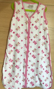 12-18m Aden & Anais Sleeping Bags & 18-24m Pink Winter Sack