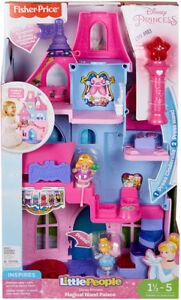 Grand Château princesse Little People Avec baguette magique