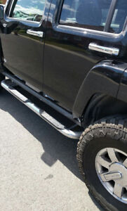 Hummer h3 full équipe gros pneus