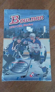 Boite cartes hockey BOWMAN CHL Hockey   sceller  (rare)