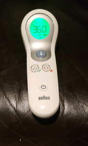 Braun No Touch dual Baby thermometer