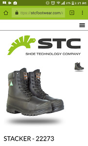 amazing new steel toes boots 200 firm.