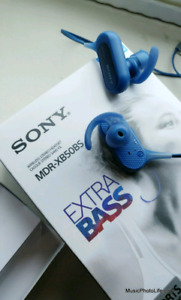 Sony MDR-XB50BS EXTRA BASS Sports Bluetooth In-ear Headp