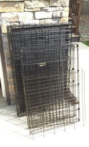 Dog Crate with Divider Panel & Play Pen Attachment
