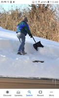 Rooftop snowremoval