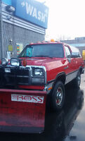 1991 Limited Edition Dodge Ramcharger original with BOSS V blade