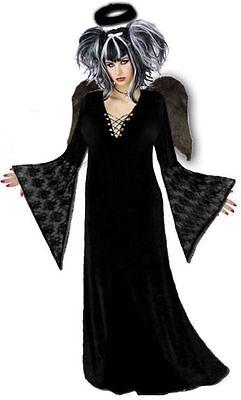 Black Gothic Dark Angel Plus Size Halloween Costume NEW Standard / Extra Tall (Extra Tall Kostüme)