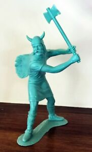 Rare - 1964 Marx Viking 7-Inch Figure with Battle Axe