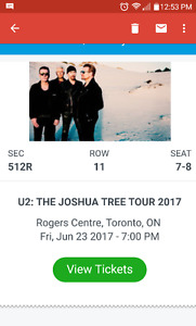 U2 and Lumineers at Roger's Center 2017