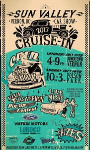 Sun Valley Cruise-In Car Show, Vernon BC, July 15/16