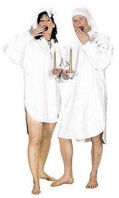 MÄNNLICHE NACHTHEMD, FASCHINGSKOSTÜM, WEE WILLY - Weißen Nachthemd Kostüm