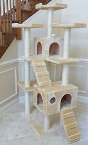 """MEOW MEOW! 74"""" CAT TREE SALE HST & FREE SHIP INCL CANADA"""