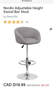 Low reduced price for Brand New Counter Stools—$250