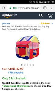 Play tent for sale