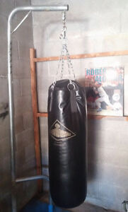 Punching Bag and Adjustable Stand - Heavy Duty