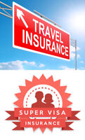 TRAVEL / SUPERVISA INSURANCE: Visitor to Canada, Out of Province