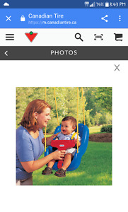 Hi looking for a swing for my son