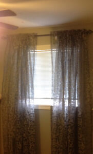 Lovely Pole Top Curtains - 4 panels