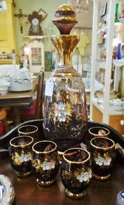 Chaise Press-Back Secrétaire Boite Bois Lampe Antique