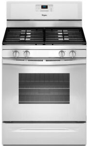 "Whirlpool WFG515S0EW 30"" Gas Range With Self Clean, 4 Sealed Bur"