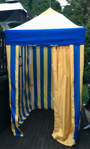 """""""Pop-up"""" beach/pool changing room/privacy cabana 4' X 4'"""